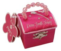 Hot Pink Tooth Fairy Box