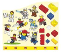 Classic Lego Wall Stickers