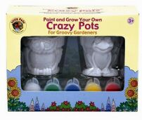 Paint and Grow Your Own Crazy Pots