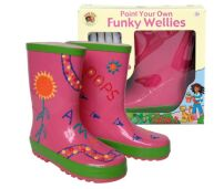 Paint Your Own Wellies – Pink