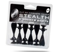 Pack of 6 Sucker Darts