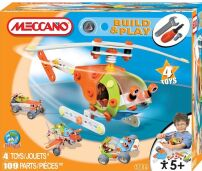 Meccano Build and Play Helicopter Set