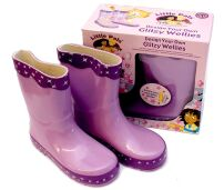 Design Your Own Fashion Wellies - Purple