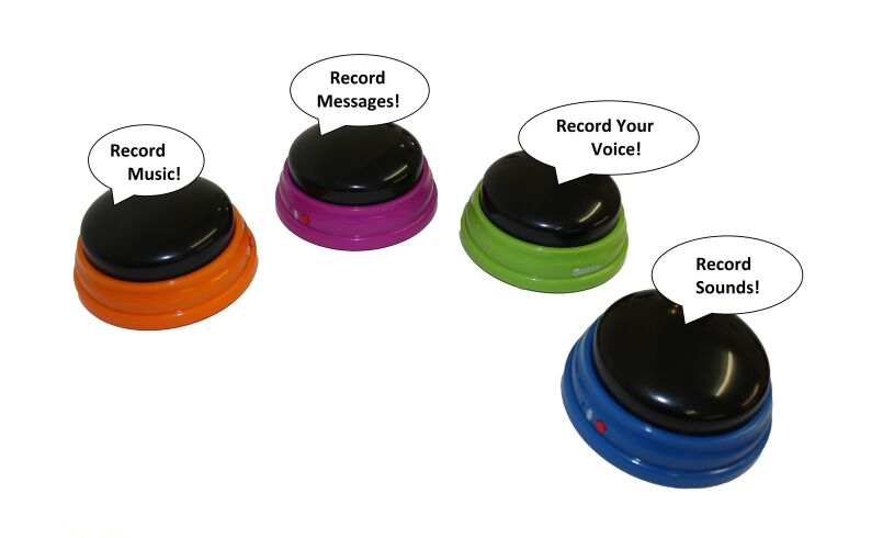 Set of 4 Recordable Answer Buzzers