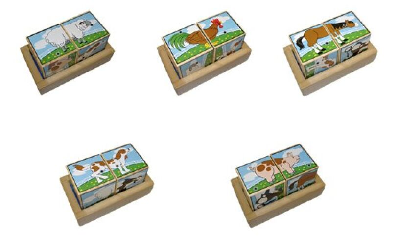 Farm Animal Sound Blocks