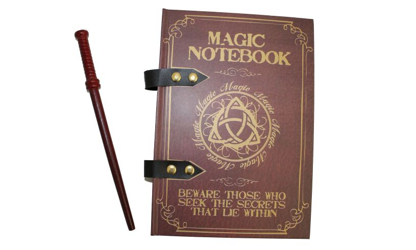 Magic Wand Notebook with pencil