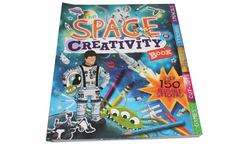 Space Creativity Book - Fun Activities
