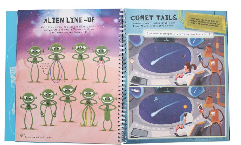 Space Creativity Book Activities