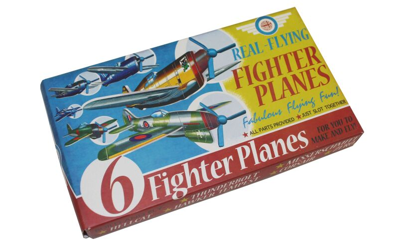 Real Flying Fighter Planes Packaging