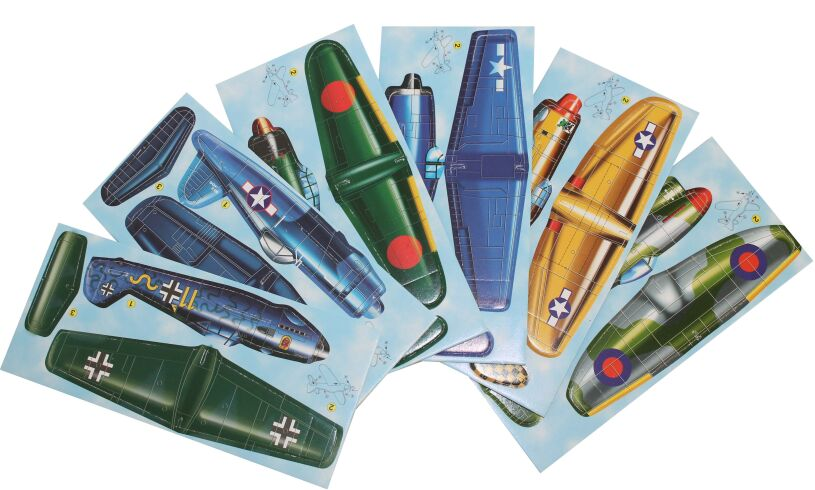 Real Flying Fighter Planes Contents