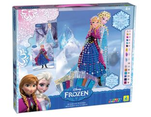 Frozen - Mosaics by Numbers