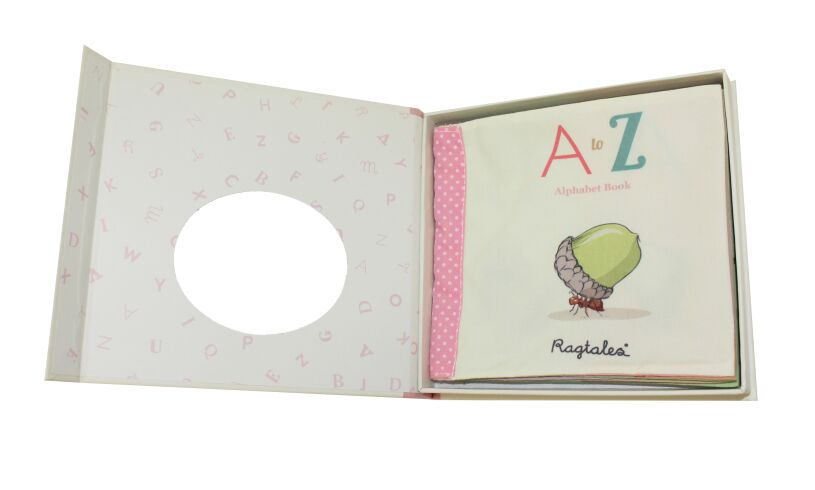 Ragtales A to Z Alphabet Book in Box