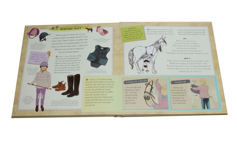 The Pony Lover's Handbook Inside Page