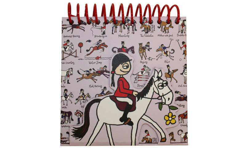 Riding Magnetic Notebook