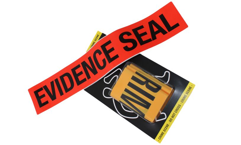 Evidence Seal Tape