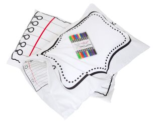 eatsleepdoodle Doodle PILLOWCASE - Draw & Wash Out
