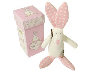 Pink Rufus Rabbit Rattle