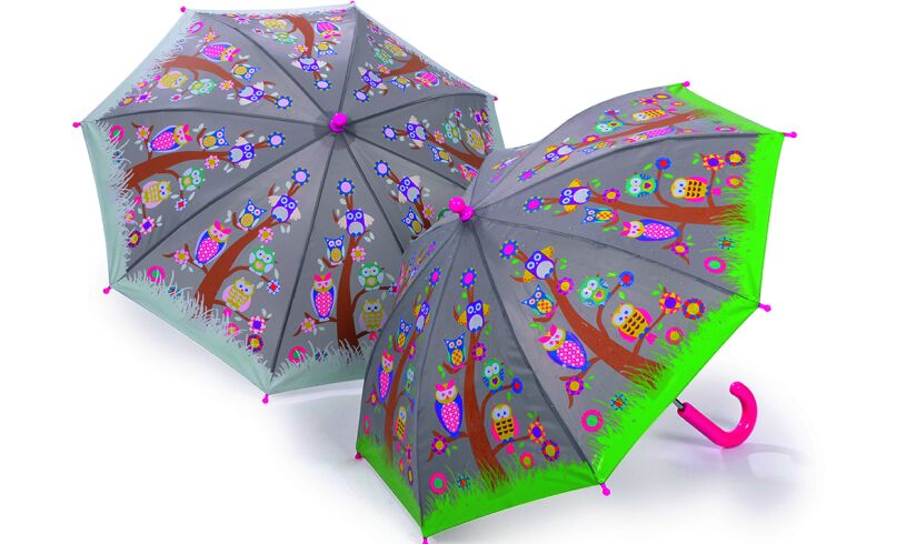 Colour Changing Owl Umbrella