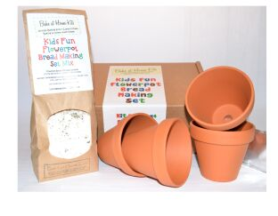 Fun Flowerpot Bread Making Set