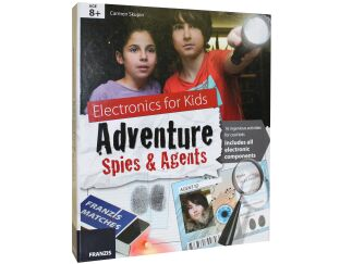 Electronic Book/Kit for Spies and Agents