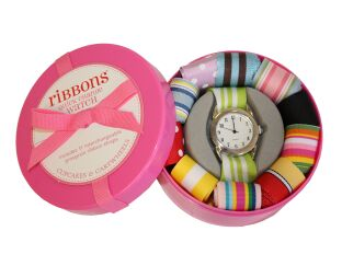 Ribbons Quartz Watch - Quick Change