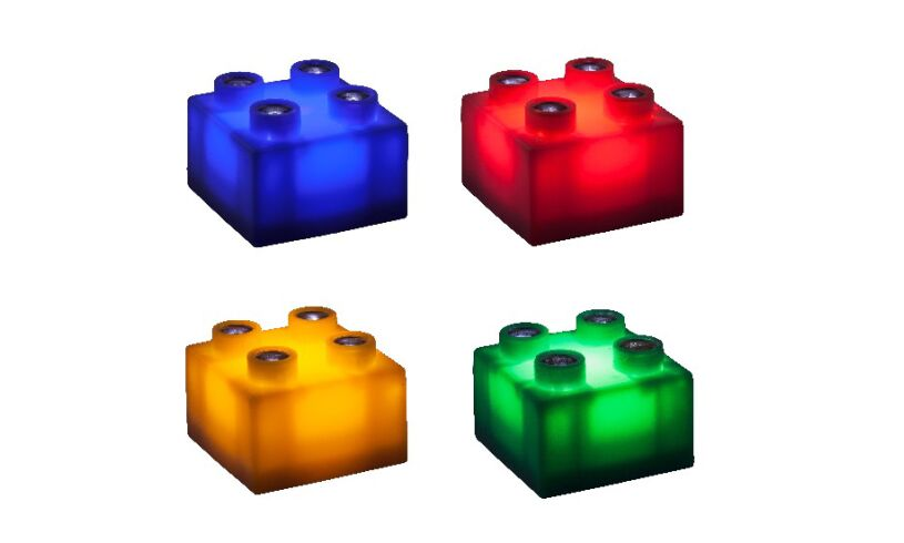 Light Stax - Light up Building Blocks - 4 colours
