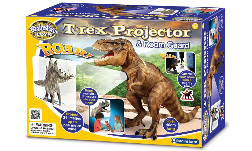 T-Rex Room Guard & Projector Packaging