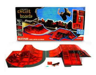 Hexbaug Skatepark with Remote Control Skateboard