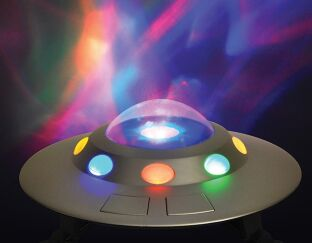 Cosmic UFO Nightlight with Sounds