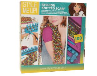 Fashion Knitted Scarf Kit with Loom