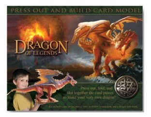 Dragon of Legends - Press out & Build