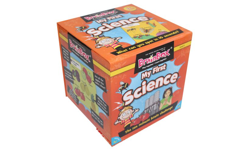 My First Science - BrainBox Packaging