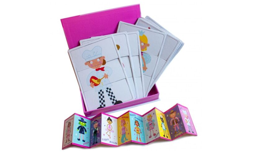 Fancy Dress - Match or Mix Up Cards