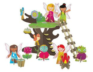 Fairies Tree 3D Playset