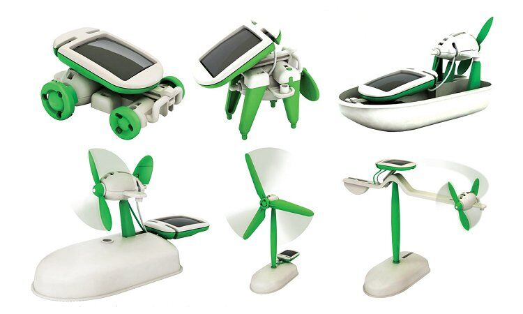 Toys For Boys Ages 10 And Up : In solar robot kit boys aged