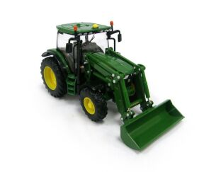 John Deere 6125R Tractor with Loader