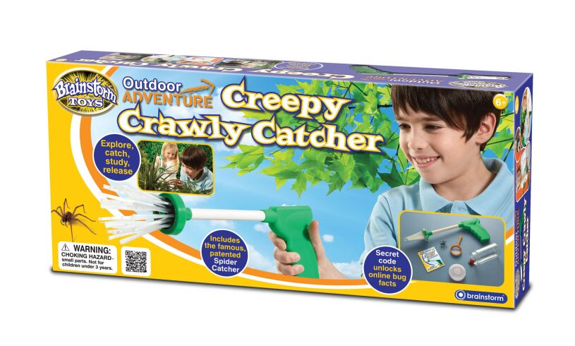 Creepy Crawly Catcher Packaging