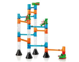 Transparent Basic Marble Run - 45 Pieces