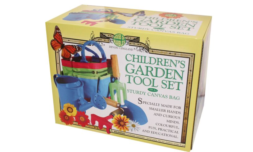 Children's Garden Tool Set Packaging