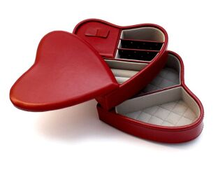 Heart Jewellery Box
