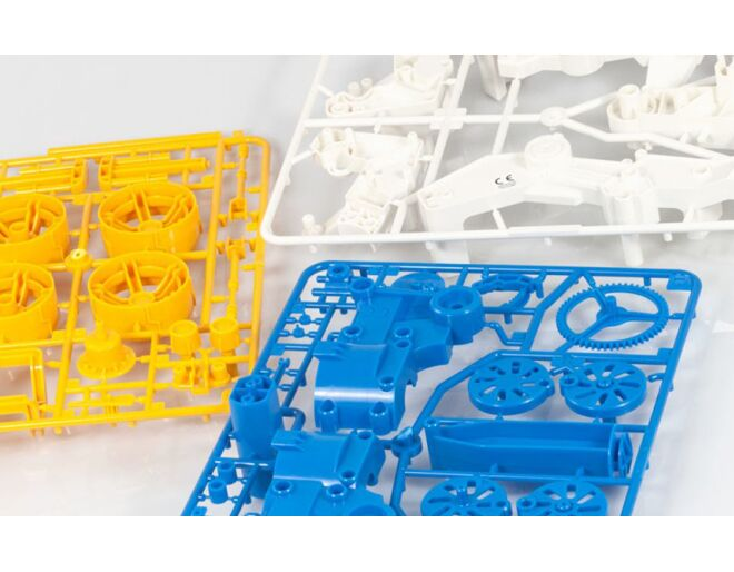 Air Power Engine Car Kit - Contents