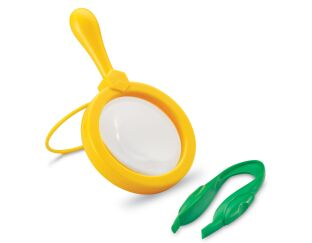 Jumbo Magnifier with Tweezers