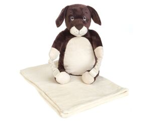 Bobo Buddies Backpack & Blanket - Puppy