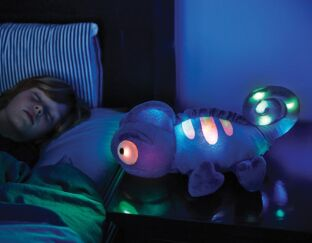 Charley The Chameleon - Cuddly Night Light