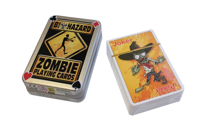 Zombie Playing Cards Contents