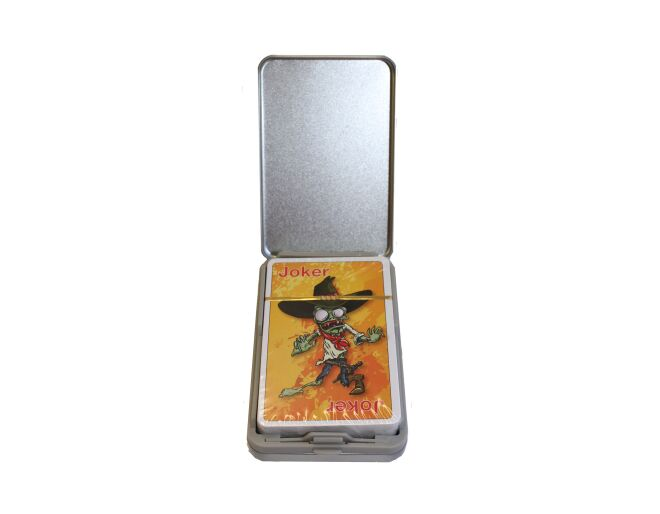 Zombie Playing Cards Tin