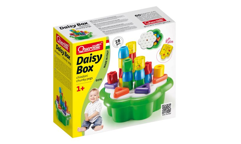 Daisy Box Chunky Peg Set Box