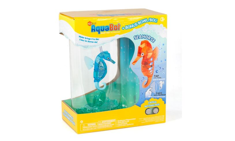 Hexbug Aquabot Seahorse with Tank in Box