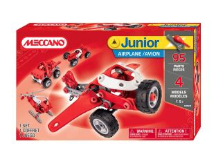 Meccano Junior 4 Model Set - 95 Parts