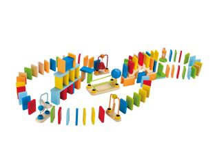 Dynamo Wooden Dominoes - with Tricks!